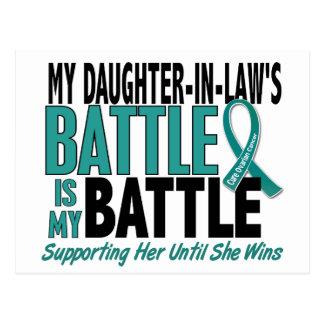Mi de la batalla cáncer ovárico de la nuera tambié tarjetas postales