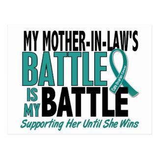 Mi de la batalla cáncer ovárico de la suegra postal