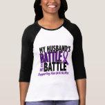 Mi de la batalla cáncer pancreático del marido tam camisetas