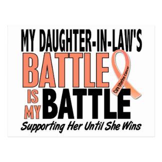 Mi de la batalla cáncer uterino de la nuera tambié postales