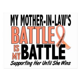 Mi de la batalla cáncer uterino de la suegra postal