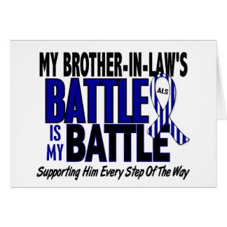 Mi de la batalla cuñado del ALS también Felicitacion