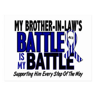Mi de la batalla cuñado del ALS también Postal