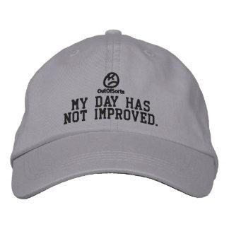 """""""Mi día no ha mejorado"""" la gorra de béisbol"""