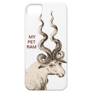 MI ESPIRAL RAM DEL MASCOTA iPhone 5 Case-Mate COBERTURA