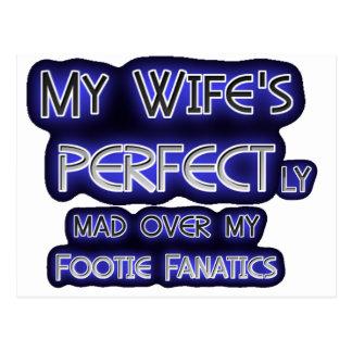 Mi esposa es perfecta postal