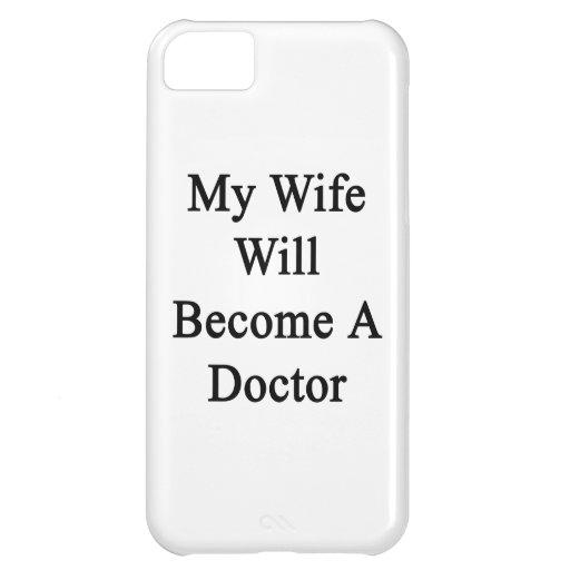 Mi esposa hará doctor