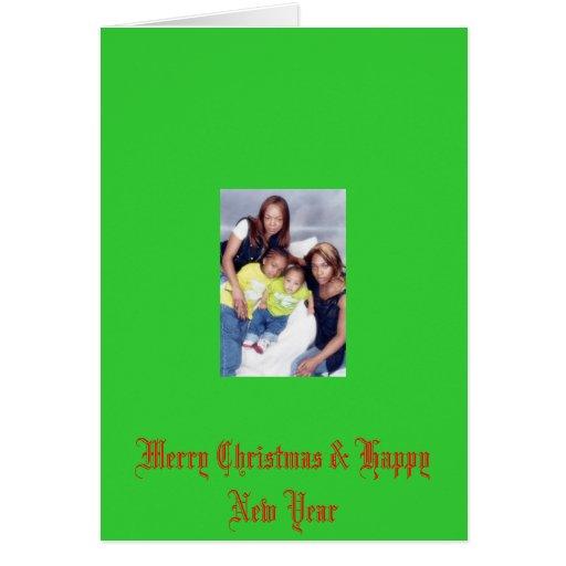 mi fam bam 2007, Felices Navidad y Feliz Año Nuevo Felicitación