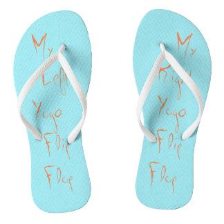 Mi flip-flop izquierdo/correcto de la yoga chanclas