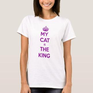 Mi gato es el rey camiseta