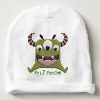 Mi gorrita tejida del monstruo de Lil Gorrito Para Bebe