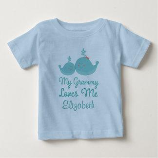Mi Grammy me ama regalo de la camiseta del nieto