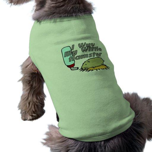 Mi hámster de Wittle Ropa Para Mascota