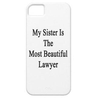 Mi hermana es el abogado más hermoso iPhone 5 fundas