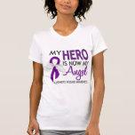 Mi héroe es mi enfermedad de Alzheimer del ángel Camiseta