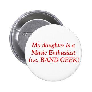 Mi hija es un entusiasta de música (es decir el FR Pins