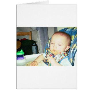 mi hijo tarjeta de felicitación