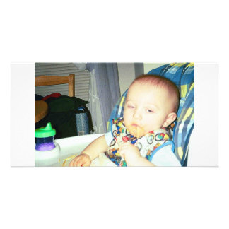 mi hijo tarjeta fotografica