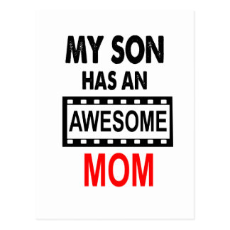 Mi hijo tiene una mamá impresionante postal