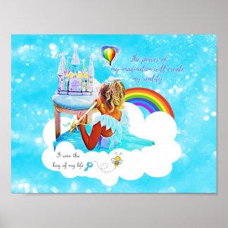 Mi imaginación póster