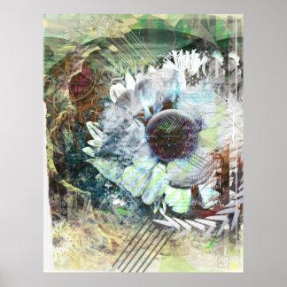 Mi impresión del poster de las capas de la flor