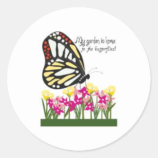 ¡Mi jardín es casero a las mariposas