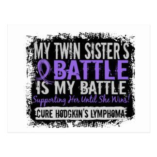 Mi linfoma gemelo de Hodgkins de la hermana Postal