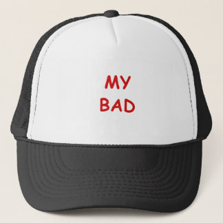 Mi malo gorra de camionero