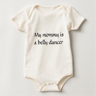 Mi mamá es bailarina de la danza del vientre body para bebé