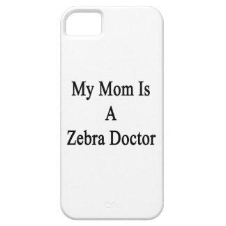Mi mamá es doctor de la cebra iPhone 5 carcasa