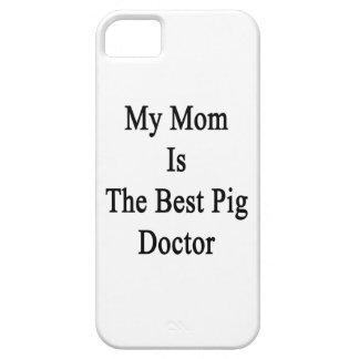 Mi mamá es el mejor doctor del cerdo iPhone 5 Case-Mate fundas