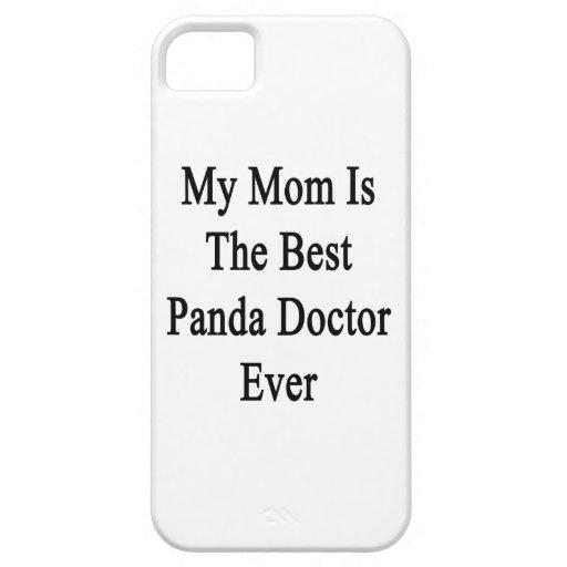 Mi mamá es el mejor doctor Ever de la panda iPhone 5 Case-Mate Cárcasas
