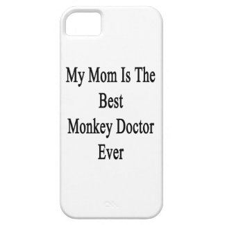 Mi mamá es el mejor doctor Ever del mono iPhone 5 Protectores