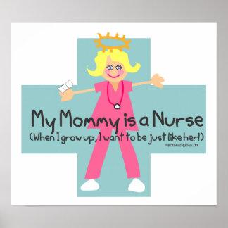 Mi mamá es enfermera impresiones