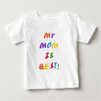Mi mamá es las mejores camisetas y regalos