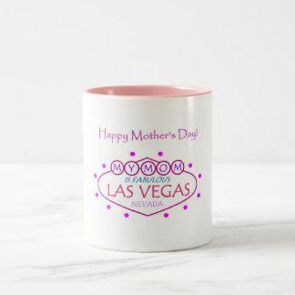 MI MAMÁ es Las Vegas fabuloso, taza del día de