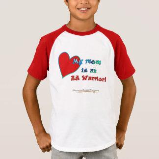Mi mamá es un guerrero del RA Camiseta