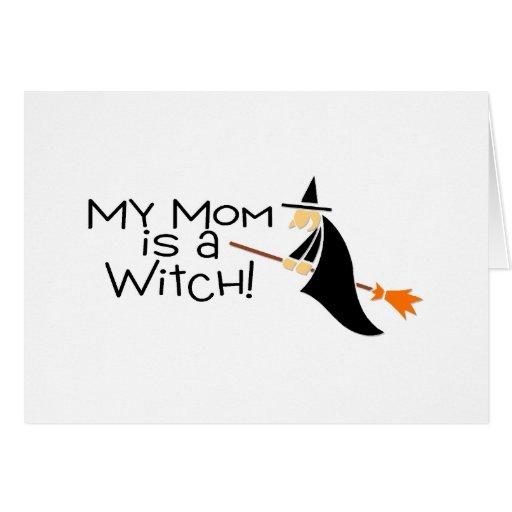 Mi mamá es una bruja tarjetón