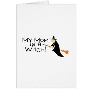 Mi mamá es una bruja felicitacion