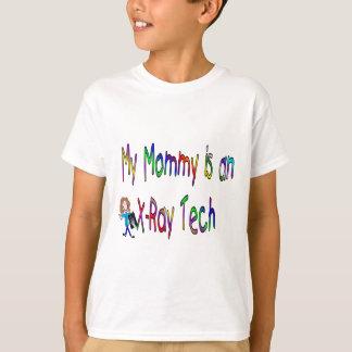 Mi mamá es una tecnología de la radiografía camiseta