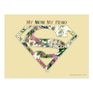 Mi mamá mi héroe postal