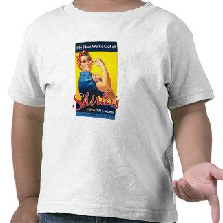 """""""Mi mamá se resuelve en la camiseta de los niños d"""