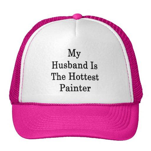 Mi marido es el pintor más caliente gorra