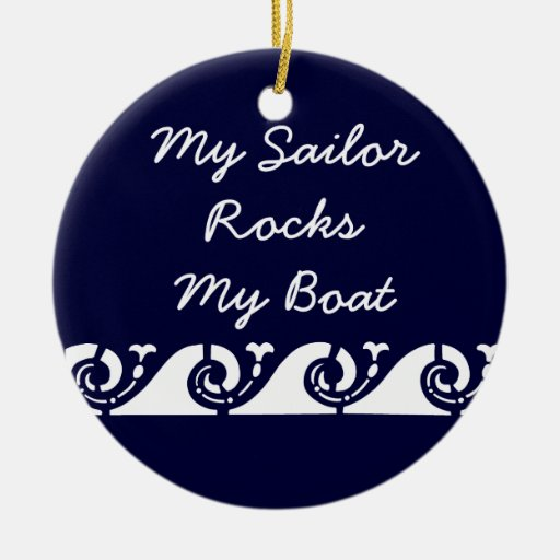 Mi marinero oscila mi barco adorno para reyes