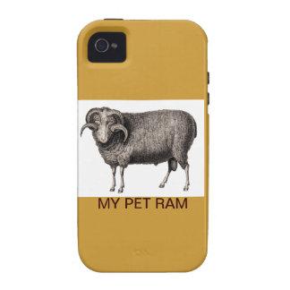 MI MASCOTA RAM Case-Mate iPhone 4 FUNDA