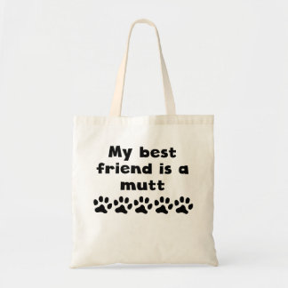 Mi mejor amigo es un Mutt Bolsa De Mano