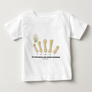 Mi Metacarpals se numera de hecho (la anatomía) Camisetas