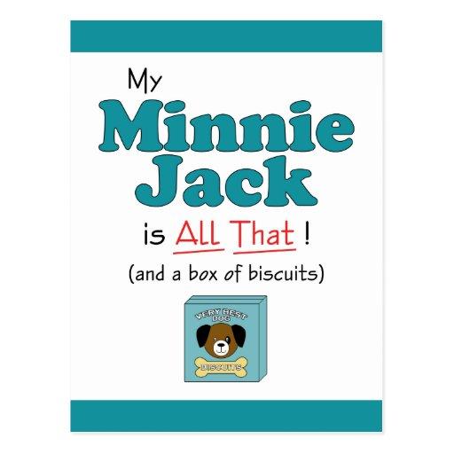¡Mi Minnie Jack es todo el eso! Postal