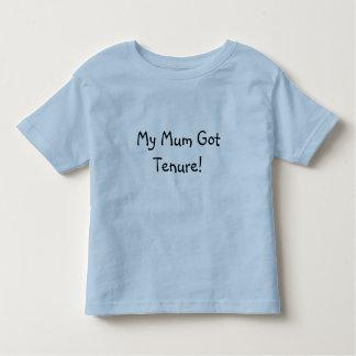 ¡Mi momia consiguió arrendamiento! Camiseta De Bebé