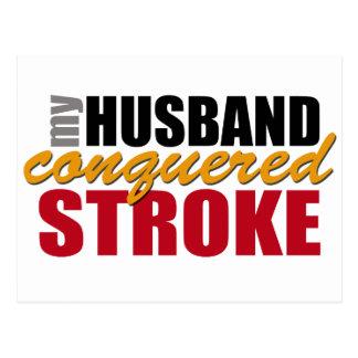 Mi movimiento conquistado marido tarjetas postales